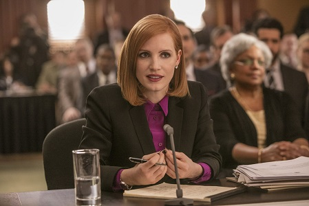 """M3 Jessica Chastain stars in EuropaCorp's """"Miss. Sloane"""". Photo Credit: Kerry Hayes © 2016 EuropaCorp Ð France 2 Cinema"""