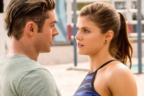 (L-R) Zac Efron as Matt Brody and Alexandra Daddario as Summer in the film BAYWATCH by Paramount Pictures, Montecito Picture Company, FlynnPicture Co., and Fremantle Productions