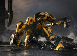 Bumblebee in TRANSFORMERS: THE LAST KNIGHT, from Paramount Pictures.