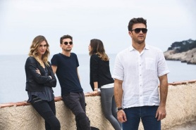 OVERDRIVE a fim directed by Antonio Negret, with Scott EASTWOOD, Freddie THORP, Ana DE ARMAS, Gaia WEISS, Simon ABKARIAN...