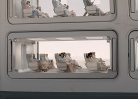 Margo Martindale plays Woman on Shuttle in Downsizing from Paramount Pictures.