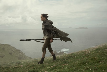 Star Wars: The Last Jedi..Rey (Daisy Ridley)..Photo: David James..©2017 Lucasfilm Ltd. All Rights Reserved.