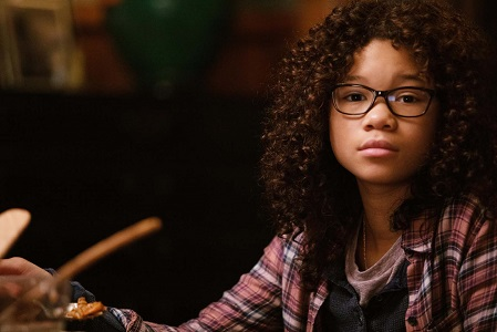 Storm Reid is Meg Murry in Disney's A WRINKLE IN TIME.