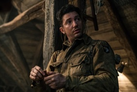 John Magaro as Tibbet in the film, OVERLORD by Paramount Pictures