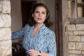 Hayley Atwell plays Evelyn Robin in Disney's heartwarming live action adventure CHRISTOPHER ROBIN.