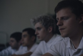 boy_erased_r2_20180611_01_R15 (ctr-r.) Troye Sivan stars as Gary and Lucas Hedges as Jared in Joel Edgerton's BOY ERASED, a Focus Features release. Credit: Focus Features