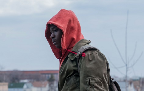 Ashton Sanders stars as Gabriel in Rupert Wyatt's CAPTIVE STATE, a Focus Features release. Credit: Parrish Lewis / Focus Features
