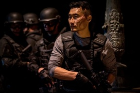 Daniel Dae Kim stars as 'Ben Daimio' in Hellboy. Photo Credit: Mark Rogers.