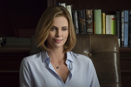 Charlize Theron stars as 'Charlotte Fields' in LONG SHOT.
