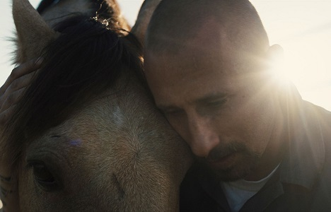 Matthias Schoenaerts stars as Roman Coleman in Laure de Clermont-Tonnerre's THE MUSTANG, a Focus Features release. Credit : Focus Features
