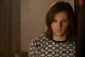 Jamie Bell plays Bernie in Rocketman from Paramount Pictures.