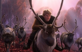"REINDEER GAMES -- – In Walt Disney Animation Studios' ""Frozen 2,"" Kristoff and Sven find themselves among a herd of reindeer. Featuring Jonathan Groff as the voice of Kristoff (and Sven), ""Frozen 2"" opens in U.S. theaters on Nov. 22, 2019. © 2019 Disney. All Rights Reserved."