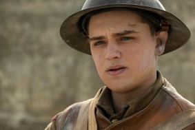Dean-Charles Chapman as Blake in 1917, the new epic from Oscar®-winning filmmaker Sam Mendes.