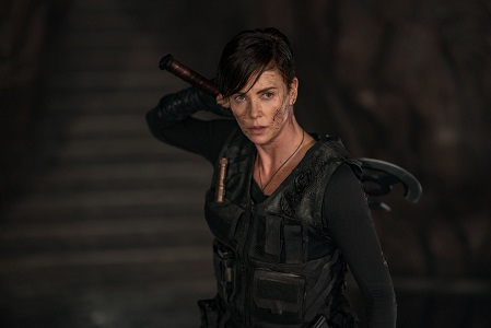 "THE OLD GUARD - Charlize Theron as ÓAndy"" Photo credit: Aimee Spinks/NETFLIX ©2020"